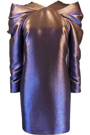 Karl Lagerfeld Pleated iridescent dress