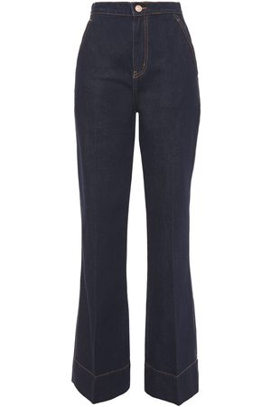 Current/Elliott Woman The Shangri-la High-rise Bootcut Jeans Dark Denim Size 23