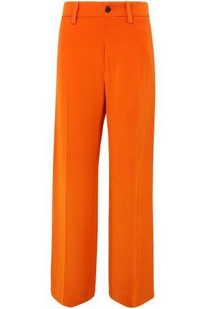 Marni Women Wide Leg Trousers - Woman Crepe Wide-leg Pants Size 46