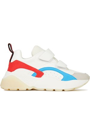 Stella McCartney Women Trainers - Woman Eclypse Color-block Faux Leather Exaggerated-sole Sneakers Size 39