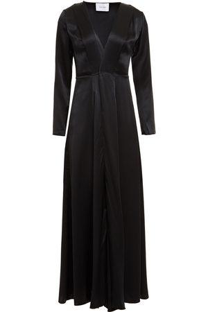 we are LEONE Woman Silk-satin Robe Size S/M