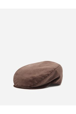 Dolce & Gabbana Men Hats - Hats and Gloves - CORDUROY FLAT CAP male 57