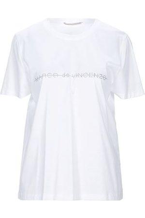 MARCO DE VINCENZO TOPWEAR - T-shirts
