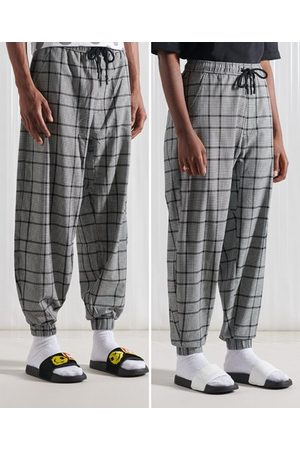 Superdry Men Joggers - SDX SDX Woven Check Joggers
