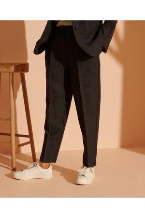 Superdry Women Trousers - - Cult Studios Women's Women's Wool Trousers