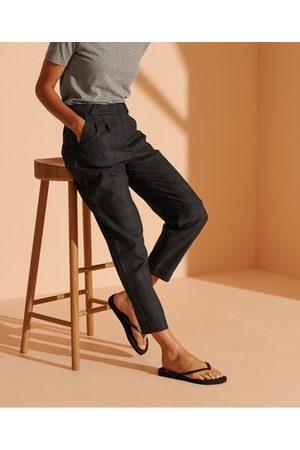 Superdry Women Trousers - - Cult Studios Women's Women's Check Wool Trousers