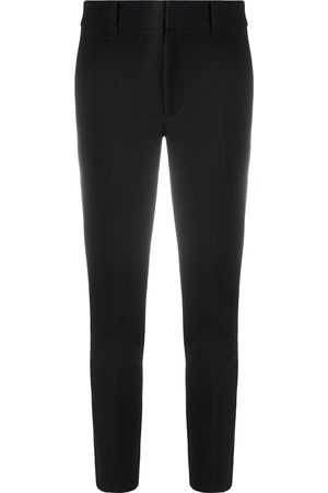Vince High-rise cropped skinny trousers