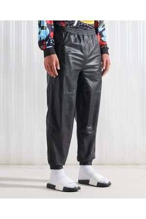Superdry Men Trousers - SDX SDX London Leather Track Pant