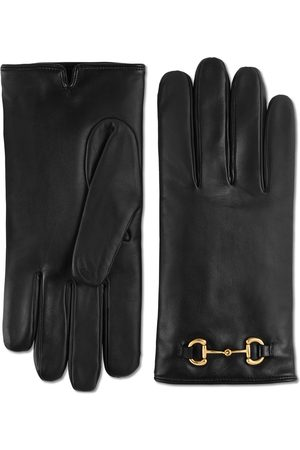 Gucci Men Gloves - Leather gloves with Horsebit