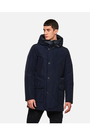 Woolrich Men Rain Jackets - Down filled raincoat size L