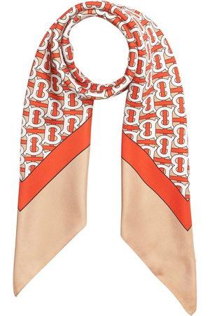 Burberry TB monogram print scarf