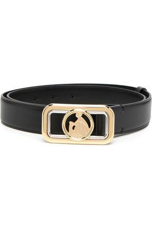Lanvin Logo motif buckle belt