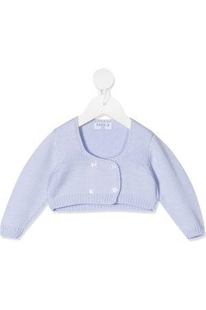 Siola Fine-knit buttoned cardigan