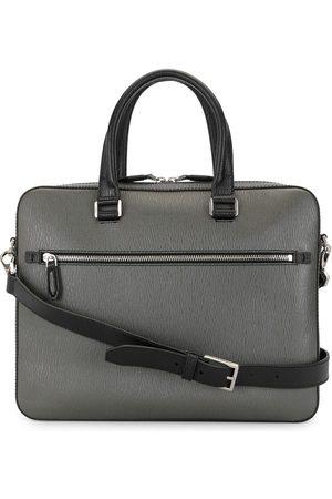 Salvatore Ferragamo Two-tone briefcase