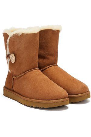 UGG Women Boots - Womens Chestnut Bailey Button II Sheepskin Boots