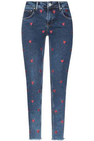 ZOE KARSSEN Women Trousers - DENIM - Denim trousers