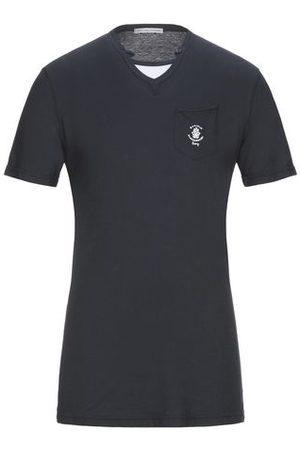 GREY DANIELE ALESSANDRINI TOPWEAR - T-shirts
