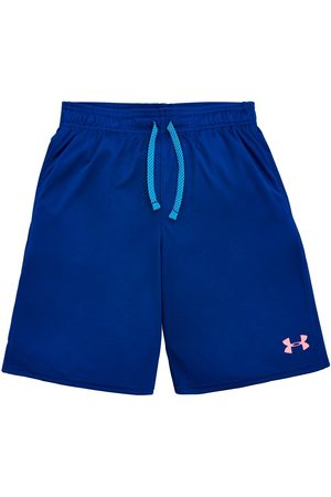 Under Armour Childrens Tech Colorblock Short Sleeved T-Shirt And Prototype Short Set