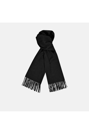 Turnbull & Asser Monogrammed Pure Cashmere Scarf