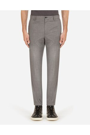 Dolce & Gabbana Trousers and Shorts - CHECK COTTON PANTS male 48