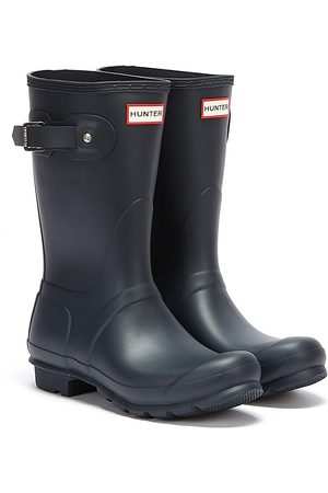 Hunter Original Short Womens Navy Wellies