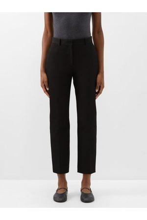 Joseph Women Trousers - Coleman Straight-leg Gabardine Trousers - Womens