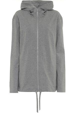 Norma Kamali Stretch-cotton jersey hoodie