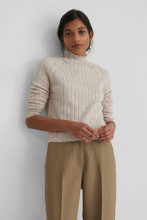 Trendyol Turtleneck Knit Sweater - Beige