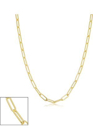 SuperJeweler 14K (3.65 g) 2.5mm Paperclip Chain Necklace, 18 Inches