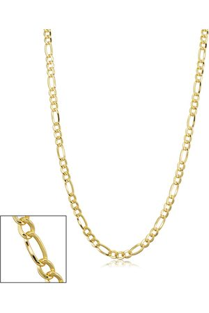SuperJeweler 14K (7.10 g) 3.3mm Figaro Chain Necklace, 20 Inches