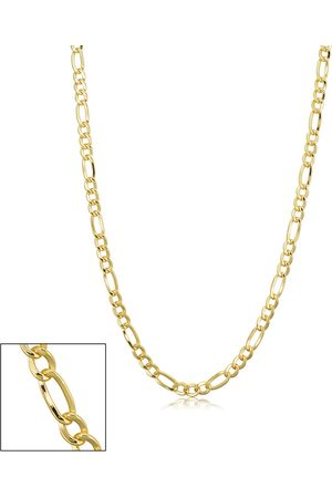 SuperJeweler 14K (6.60 g) 3.3mm Figaro Chain Necklace, 18 Inches
