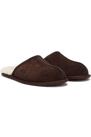 UGG Men Slippers - Scuff Mens Espresso Slippers