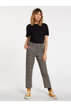 Volcom Women's Frochickie Highrise Chino Pant - VINTAGE
