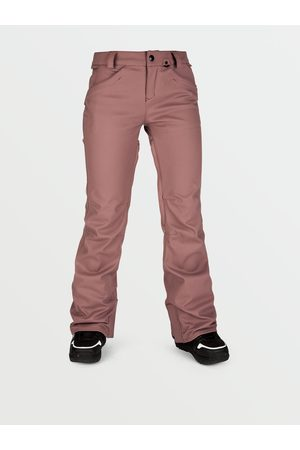 Volcom Women's Species Stretch Pants - Rose Wood