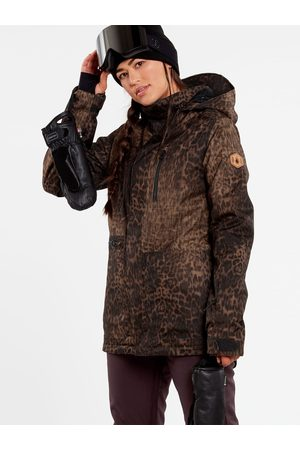 Volcom Women's Shelter 3D Stretch Jacket - Leopard