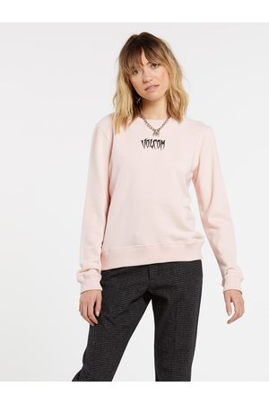 Volcom Women's Sound Check Sweatshirt - HAZEY