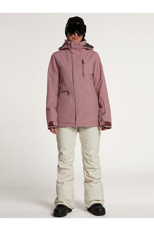 Volcom Women's Shelter 3D Stretch Jacket - Rose Wood