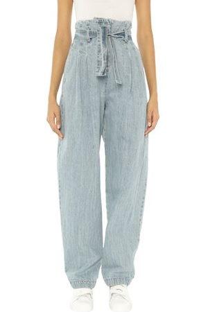 WANDERING Women Trousers - BOTTOMWEAR - Denim trousers