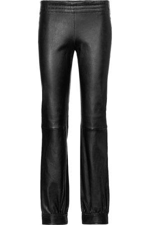 Stouls Massoud leather track pants