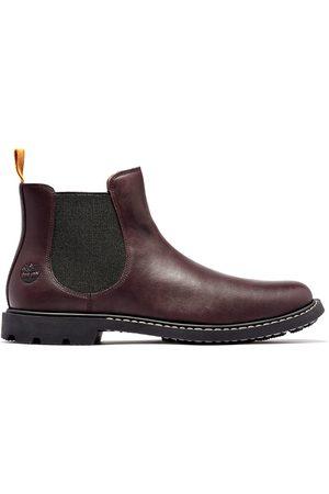 Timberland Belanger ek+ chelsea boot for men in burgundy burgundy, size 6.5