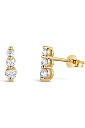 Dinny Hall Women Earrings - Shuga Tapering Triple Studs