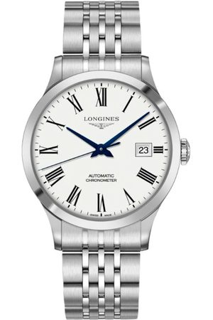 Longines Stainless Steel Record Watch 40mm