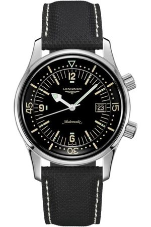 Longines Stainless Steel Legend Diver Watch 42mm