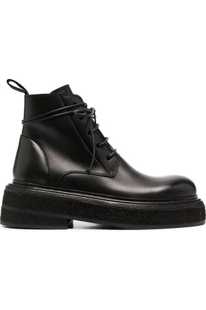 MARSÈLL Chunky-sole lace-up boots