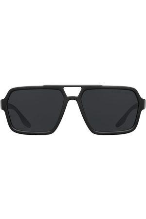 Prada Linea Rossa oversized-frame sunglasses