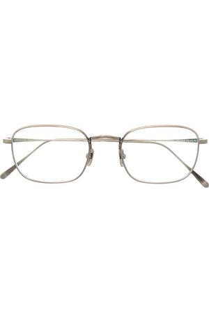 Lunor M904 rectangle-frame glasses - Metallic