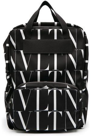VALENTINO GARAVANI All-over logo print backpack