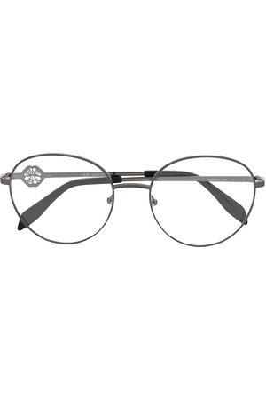 Alexander McQueen Eyewear Round frame glasses