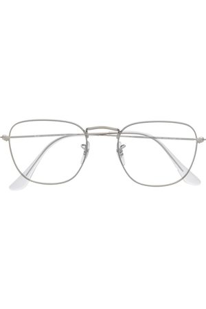 Ray-Ban Silver wireframe glasses - Metallic