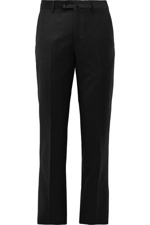 Loro Piana Slim-Fit Wool and Cashmere-Blend Flannel Trousers